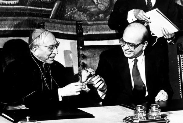 """La riforma del Concordato del 1984 e la """"questione cattolica"""" in Italia"""