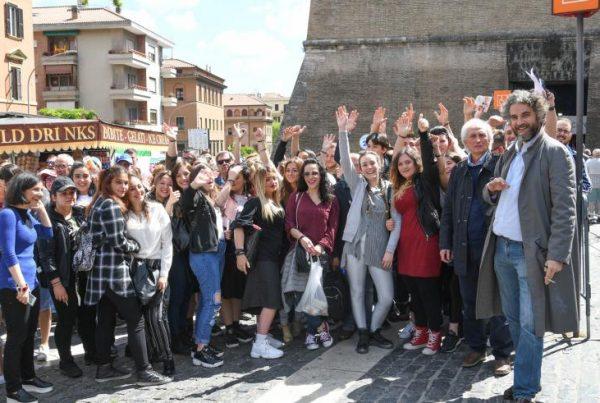 Ragazzi di Scampia ai Musei Vaticani